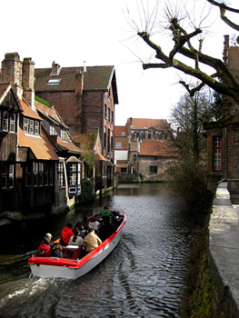 Boating on the canals