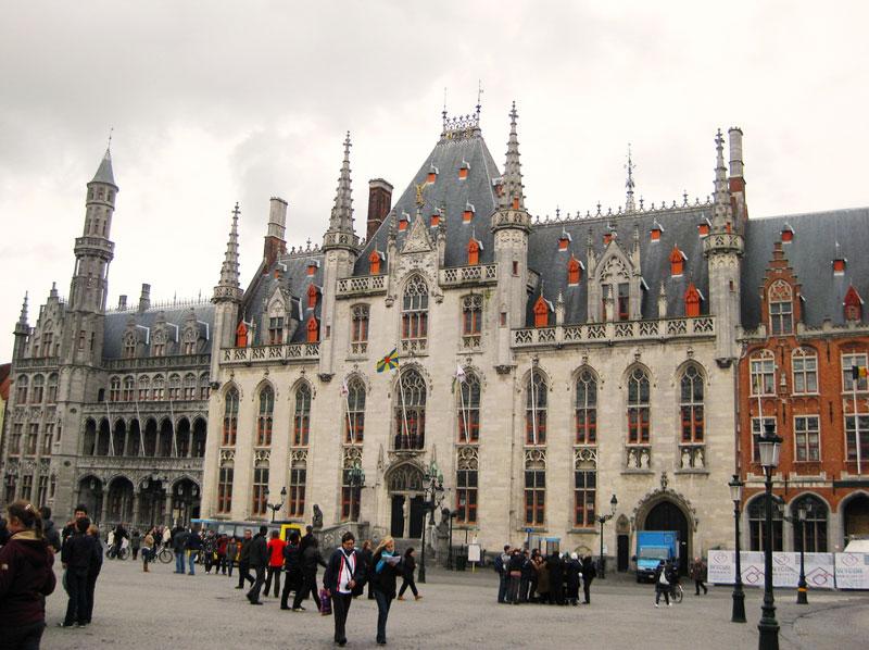 Provincial Administration Building, Bruges.