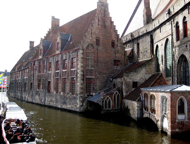 Bruges is known as the Venice of the North.