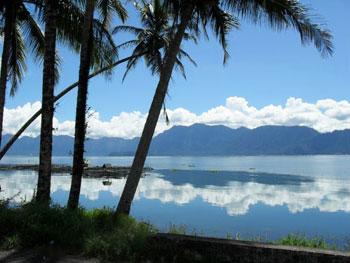 Travelling Sumatra: Lake Maninjau. Photos by Michael Norwood.