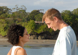 Pilar Quintana and Conor McShannon