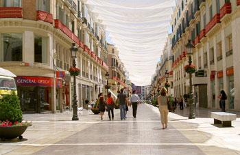 Malaga street scene