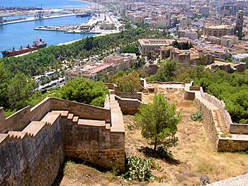 The Castillo de Gibralfaro in Malaga. Photos by manuelfloresv.