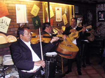 The requisite Mexican band in Tijuana.