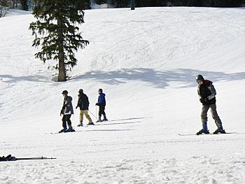 The slopes at Sundance