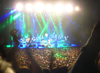 The Commitments performed a 20th anniversary concert at the new O2 Centre.