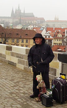 Puppet Show on the Charles Bridge