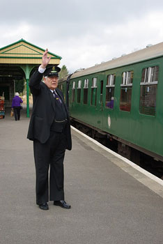 All Aboard! Corfe Castle Station which was Kirrin Station in the Enid Blyton books