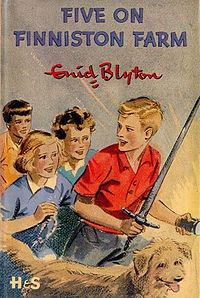 Enid Blyton's The Famous Five were popular books for kids written about Dorset.