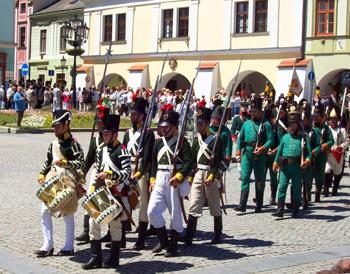 The Napoleonic Festival in Kromeriz's Main Square