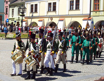 The Napoleonic Festival in Kromeriz's Main Square