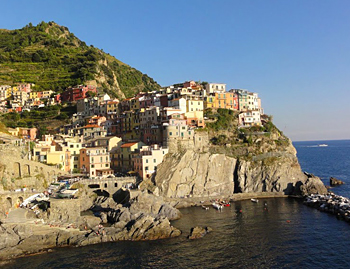 Manarola is the second smallest of the Cinque Terre towns. Photos by John Caldwell.