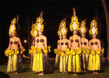 At Old Lahaina Luau you will experience Hawaiian culture.