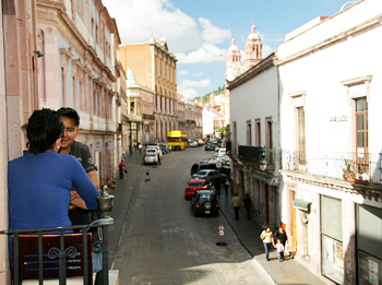 """Tourists who come will find good, inexpensive living and might one day boast that they were here before Zacatecas was """"discovered."""""""