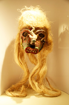 A mask from the Rafael Coronel Museum