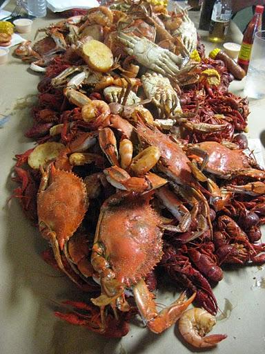 Crawfish Boil at Susie's Seafood, Morgan City, Louisiana
