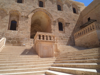 The Safron Monastery, once used by the Syriacs.