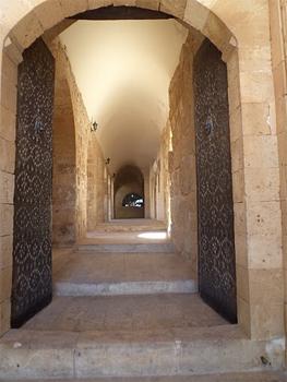 Passageway in the monastery.