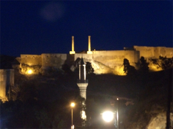 Urfa Turkey at night.
