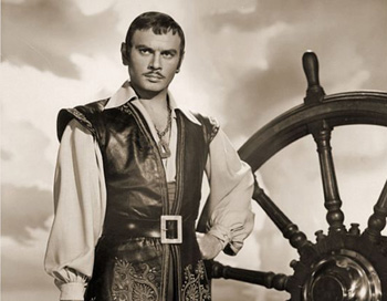 A young Yul Brynner stars as pirate captain Jean Lafitte.