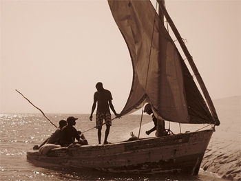 Fishermen in Mozambique. photos by Jennifer Delaney.