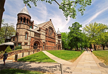 Alexander Hall a Princeton University in New Jersey.
