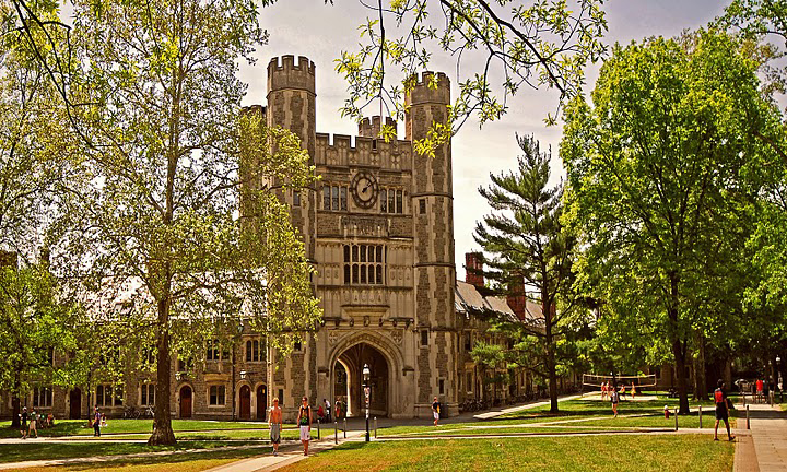Blair Hall, Princeton University, in New Jersey.