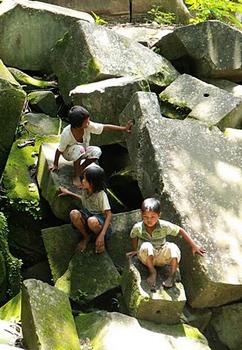 Bang Maelea climbing kids.