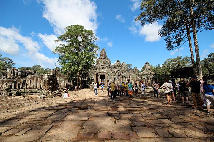 Bayon Angkor Thom,  by Kathleen Broadhurst.