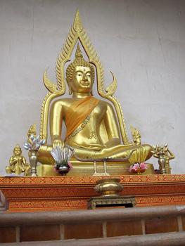 A typical Buddhist altar