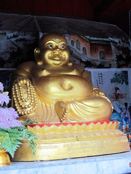 Wihan Buddha is considered the most important Buddha image at Doi Suthep Temple.