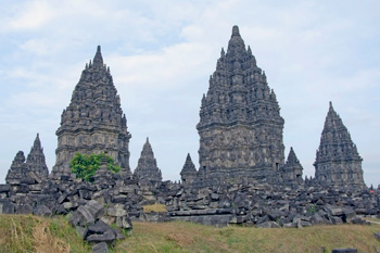 Prambanan Hindu Temple complex