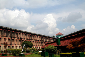 The Cellular Jail at Port Blair