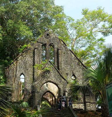 The Church in Ruins, Ross Island