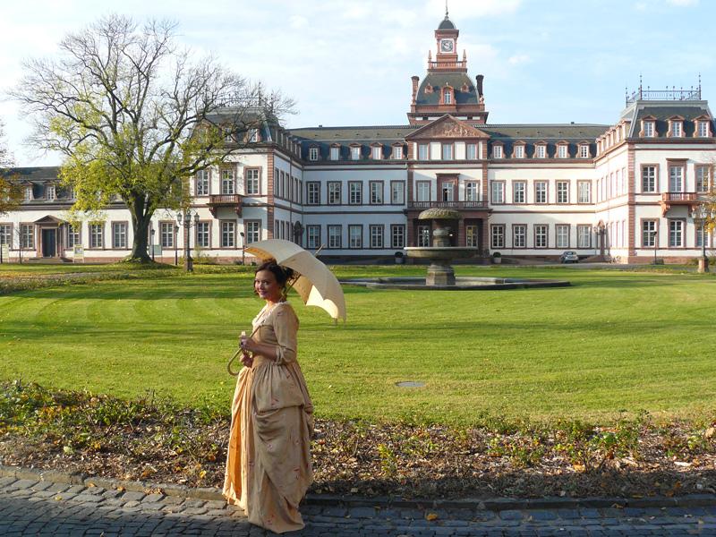 Philippsruhe Castle in Hanau, Germany