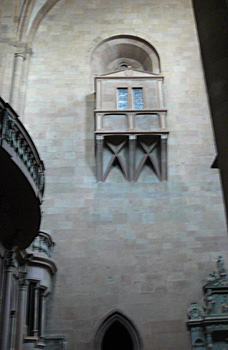 The Spanish trumpets at Mainz Cathedral
