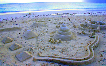 Sandcastle, a good days work.