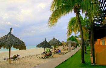 Tamajin All inclusive Aruba beachfront.