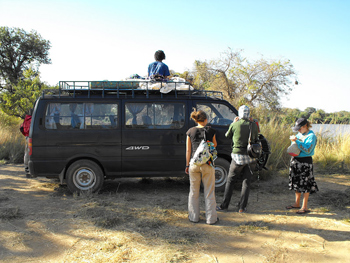 The safari van.