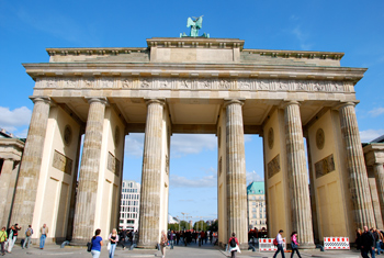 Brandenburg Gate, Berlin, Germany. photo by Sonja Stark, Pilotgirl Productions.