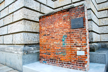 Section of the original Berlin Wall.