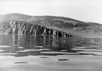 Cape Kyltygei, Naked, in 1981.