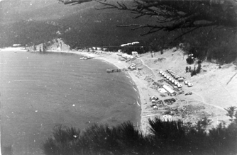 The Bay Peschanaya, (Sandy) in 1981.