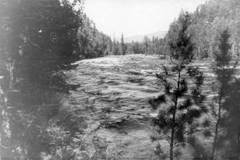 The start of the river Froliha.