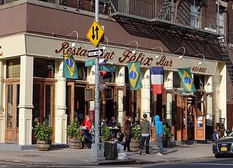 Felix is a popular brunch spot in SoHo.