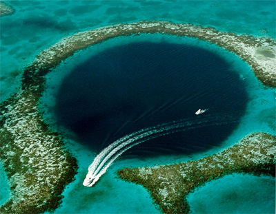 Great Blue Hole, Belize.