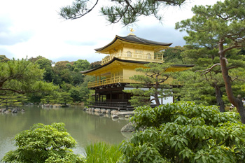 The Golden Pavilion, Kinkaku-ji Temple, Kyoto, Japan