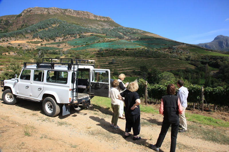 Eagle's Nest Winery, Cape Town South Africa. Janis turk photo.