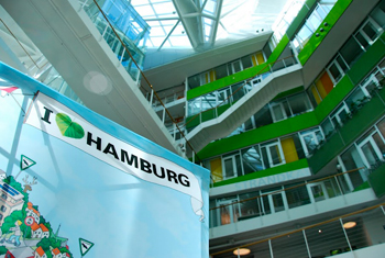 The prize-winning Unilever Headquarters employs 1,200. In 2009 it was designated the World's Best Office Building.