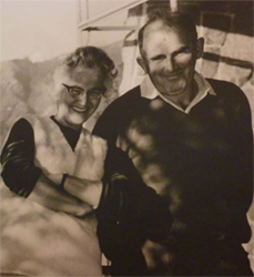 Catalina and Guillermo Pollak, founders of the Hotel Antumalal.